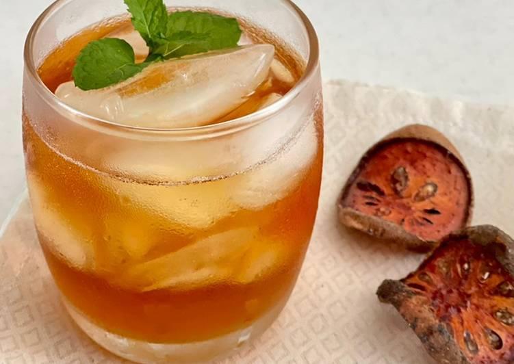 Bael fruit drink