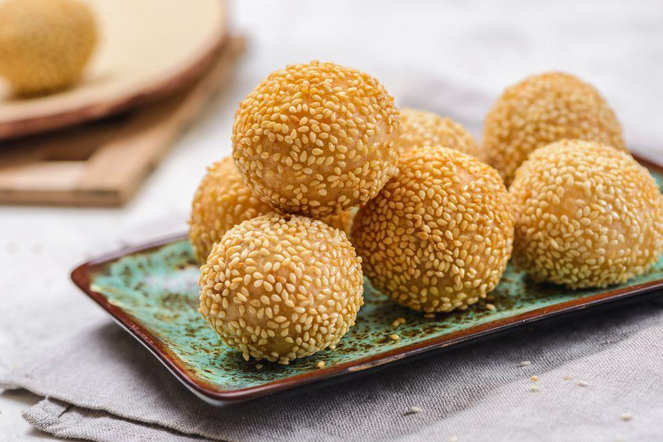 Sesame seed balls (7pcs)