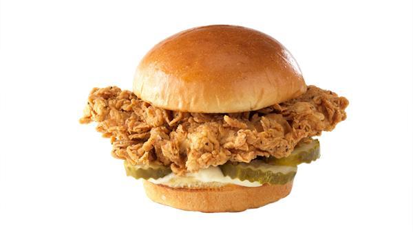 Chicken Sandwich w/fries